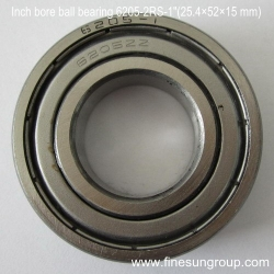 Inch bore ball bearing