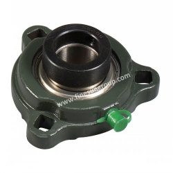 Flange mounted bearing unit