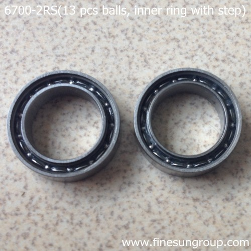 Thin-section ball bearing