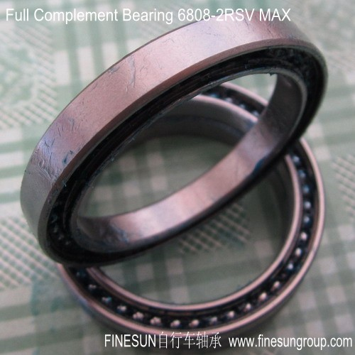 Full complement ball bearing