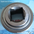 Square bore disc harrow bearing